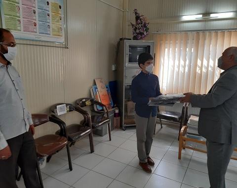 تقدیر از دانش آموز میلاد براتی ،  برگزیده مسابقات استانی نهج البلاغه